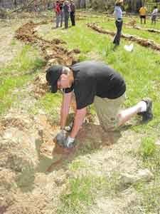 Catoctin Creek tree planting