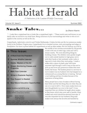 Habitat Herald, Summer 2002