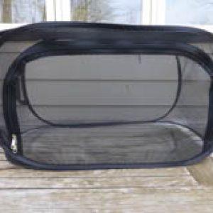 Large Black Rearing Cage
