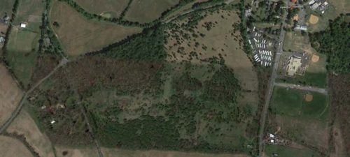 Aerial view of Stumptown property by Google Earth