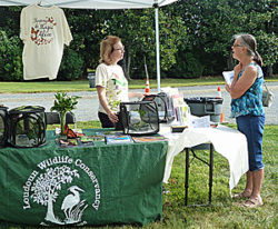 Loudoun Wildlife Conservancy booth