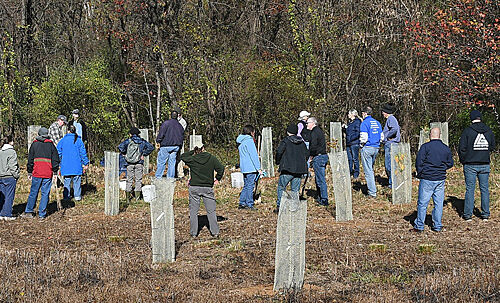 Tree planting at JK Black Oak Wildlife Sanctuary