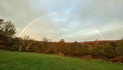 Rainbow at the Blue Ridge Center