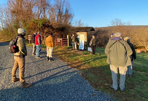 Bird walk at Blue Ridge Center