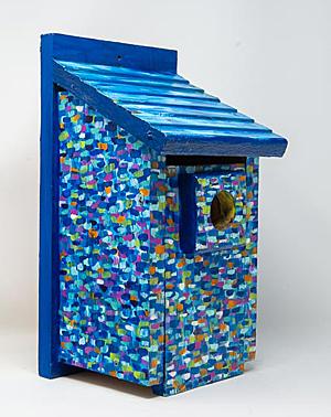 Bird House art work