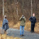 Rain Brings Out Birds and Birders at Blue Ridge Center