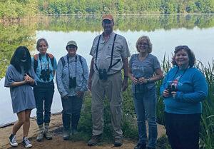 Group photo for Ashburn bird trip