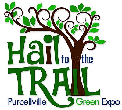 Hail to the Trail logo