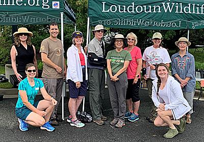 LWC Volunteers at Milkweed Sale