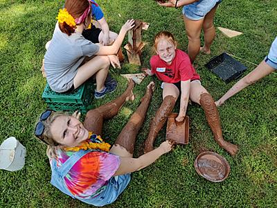 Mud Play at St. Matthew's