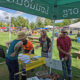 Volunteers and Beautiful Weather Make Booth a Success