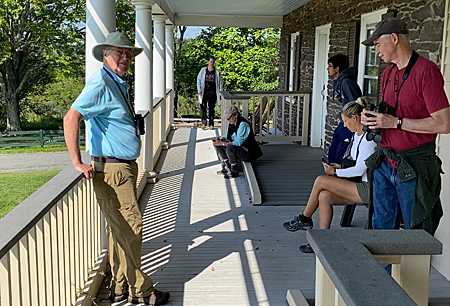 Banshee Reeks Visitor Center porch