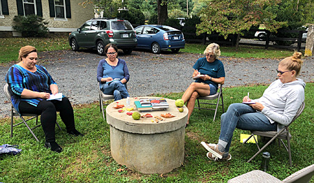 October Writing in Nature workshop